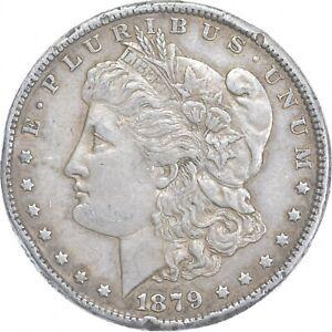 Early - 1879 Morgan Silver Dollar - 90% US Coin *993