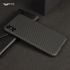 100% Real Original Genuine Carbon Fiber Full Cover Back Case For iPhone X 8 Plus
