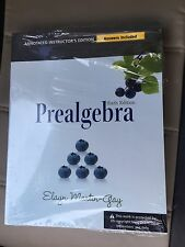 Prealgebra (6th Edition) Annotated Instructor's (Answers Included) w/ Disk