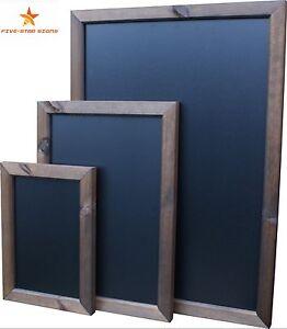 LARGE CHALKBOARD, BLACKBOARD SPECIAL WALLBOARD (FULLY FRAMED)