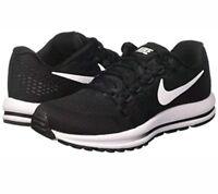 Nike Air Zoom Vomero 12 Black White Women Running Shoes Sneakers 863766-001 Sz 5
