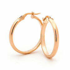 Hoop Rose Gold Fine Earrings
