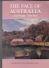 THE FACE OF AUSTRALIA.  THE PEOPLE - THE PAST.  CATALOGUE. BICENTENNIAL -  1988