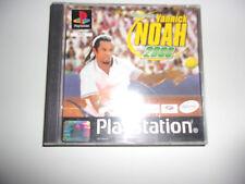 JEU SONY PLAYSTATION YANNICK NOAH ALLSTAR TENNIS 2000