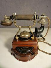 Frühes Haustelephon mit Linienwähler Erikson L.M. um 1910