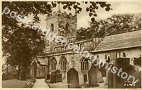 Vintage Postcard, Eyam, St Lawrence's Church, Frith's Series