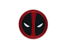 Dead Pool Embroidered Patch Iron on Applique Iron on Patch