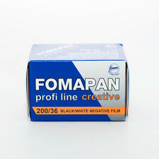 1 Roll x FOMAPAN 200 Profi Line Creative 135 35mm 36exp Black & White Film FOMA