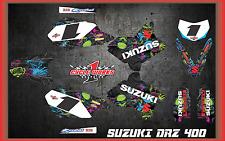 Suzuki DRZ400 DRZ 400  SEMI CUSTOM GRAPHICS KIT VICTORIA