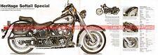 HARLEY DAVIDSON FLSTN 1340 Heritage Softail Special 1996 Fiche Moto 000508