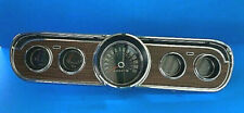 1965-1966 Ford Mustang Woodgrain Gauge Dash Cluster Reconditioned Deluxe #2014