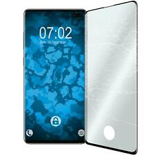 1 x Samsung Galaxy S10 Plus Protection Film Tempered Glass  black