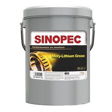SINOPEC MOLY EXTREME PRESSURE LITHIUM GREASE, 5 GALLON PAIL