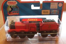 Thomas & Friends Learning Curve LC 99005 James Engine Retired New Real Wood