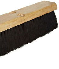 "Economy Medium Sweep Floor Brush. 24"" Block Size, Black Tampico Fill,"