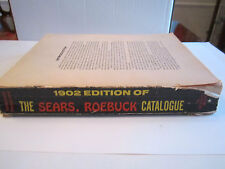 1902 SEARS & ROEBUCK CATALOGUE - 1960'S COPY PRINT - MISSING COVER PAGE -TUB RRR
