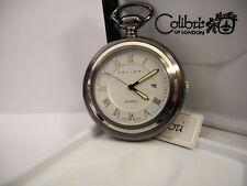 or desk Watch New Reduced Clearanc Colibri Dark Steel Grey And Silvertone Pocket