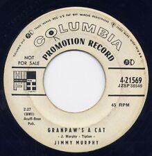 "Original RAB JIMMY MURPHY - ""GRANDPAW'S A CAT"" / ""BABOON BOOGIE""- COLUMBIA (VG+)"