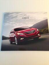 2014 Hyundai Sonata Original Sales Brochure