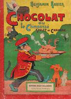 RABIER. Chocolat ou le chimpanzé valet de chambre. 1916