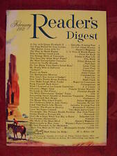 Reader's Digest February 1953 Philo Farnsworth +++