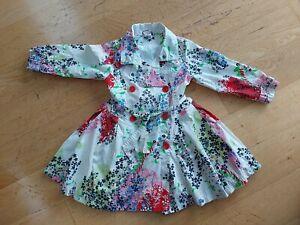 Cakewalk Girls Used Multicoloured Coat Dress, Size 6 Years
