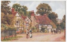 Berkshire; Sonning on Thames PPC, 1936 Henley on Thames PMK, By AR Quinton