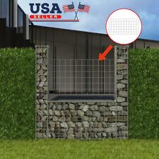Gabion Wall Galvanized Steel Raised Stone Basket Cage Fence Basket U-Shape NEW