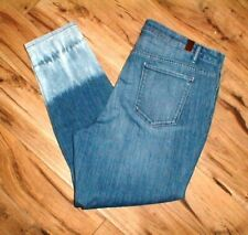 SIMPLY VERA / VERA WANG SKINNY ANKLE STRETCH DENIM BLUE JEANS SIZE 16 NWTS