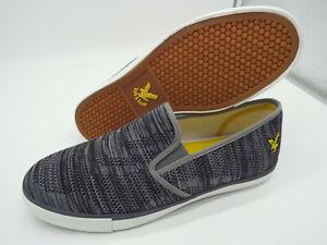 LYLE & SCOTT Eden Space Dye Knit Shoes 🌍 Size 8 🌎 RRP £48+ 🌏 UK FREEPOST