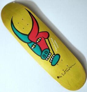 LIMITED ED TEMPLETON SIGNED /99 SKATEBOARD DECK FREEDOME SKATE ReIssue Art Print