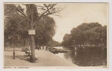 Bedfordshire postcard - Bedford, The Embankment - P/U 1929 (A10)