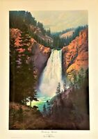 Dalhart Windberg Thundering Splendor Print 1979 Special Edition Artist Signed.