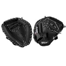 "WILSON 32.5"" A360 YOUTH BASEBALL CATCHER'S MITT RH THROWER(GOES ON LEFT HAND)"
