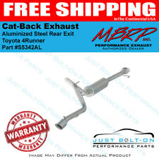 MBRP 2.5in Cat Back Exhaust FITS 2010-2018 4 Runner AL Single Rear Exit S5342AL