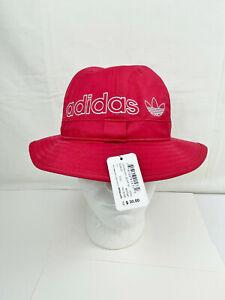 NWT ADIDAS UNISEX ORIGINALS BUCKET RED HAT - #EV7681