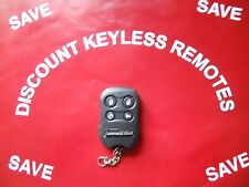 COMMAND START AFTERMARKET KEYLESS REMOTE  05-A433 -BUTTON  ORANGE  LIGHT  VGC
