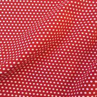 Jersey Stoff Punkte Kinderstoff Meterware Baumwolle Öko-Tex Muster Stretch 0,5m