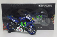 MINICHAMPS VALENTINO ROSSI 1/12 YAMAHA MOVISTAR MOTOGP WINTER TEST SEPANG 2016