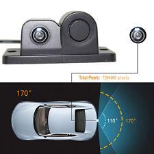 170° Viewing Angle HD Waterproof Car Rear View Camera with Radar Parking Sensor