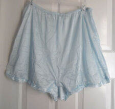 LOT 3 NYLON BLOOMERS BLUE, PINK, IVORY WOMEN PANTIES WOMEN BOXERS 7 / LARGE
