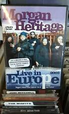 Morgan Heritage: Live In Europe 2003 - DVD - RARE   FREE 1ST CLASS SHIPPING!