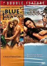 NEW DVD / THE BLUE LAGOON + RETURN TO BLUE LAGOON, BROOKE SHIELDS  MILA JOVOVICH