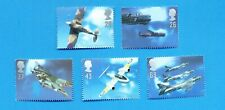 GREAT BRITAIN  - Scott 1758-1762 - VFMNH - Airplanes - 1997