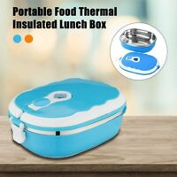 Portable Food Warmer Kids School Lunch Box Thermal Insulated Food Container Hot