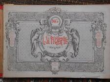 L'AUTOGRAPHE 1864 1ere année -24 numéros -212 p -relié - autographes célébrités