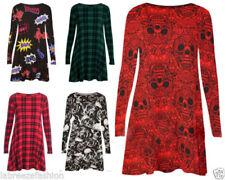 Winter Scoop Neck Casual Dresses for Women