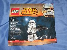 STAR WARS Stormtrooper Sergeant Lego Minifigure Promo Figure #5002938 (Movie)
