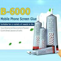 B6000 Glue For Rhinestone Crystal Jewelry Craft DIY Screen Phone New E8T2