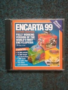 PC Format Microsoft Encarta 99 Deluxe edition 30 Day Trial